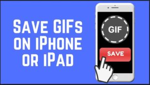 How to download Gif on Iphone or Ipad