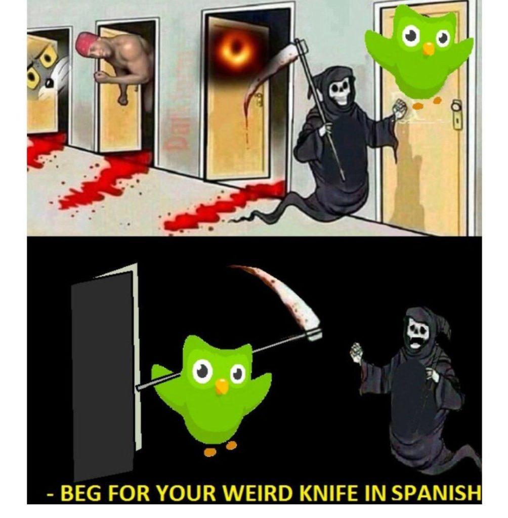 Duolingo-Owl-Gun