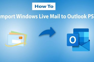 PST file in Windows Live Mail?